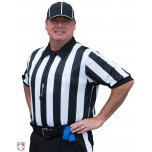 "Smitty 2"" Stripe ""Elite"" Short Sleeve Football Referee Shirt"
