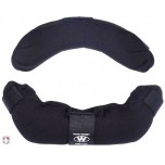 Team Wendy Umpire Mask Replacement Pads - Black