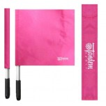 Deluxe Pink Volleyball Linesman Flags