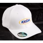 KHSAA Embroidered Richardson Cool Dry Flexfit White Referee Cap