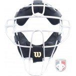 Wilson Silver Dyna-Lite Aluminum Umpire Mask with Memory Foam Pads