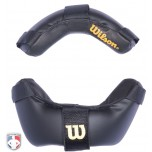 Wilson Leather Umpire Mask Replacement Pads - Black