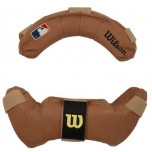Wilson Umpire Mask Replacement Pads-Tan