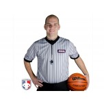Alabama (AHSAA) Grey V-Neck Referee Shirt