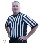 Ultra Mesh V-Neck Referee Shirt with Side Panels