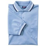Dalco Mesh Umpire Shirt - Powder Blue