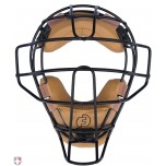 Force3 V2 Defender Umpire Mask with Tan + FREE Mask Bag