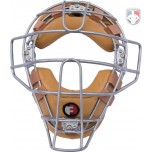 Force3 Defender Umpire Face Mask-Tan