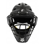 Force3 Defender Hockey Style Umpire Helmet - Black