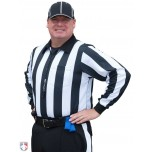 "Smitty 2 1/4"" Stripe Long Sleeve Football Referee Shirt"