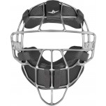 All-Star Silver Magnesium Umpire Mask with Black LUC