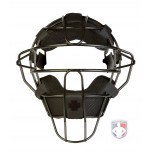 +POS Zero Gravity Umpire Face Mask - Black