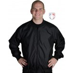 Black Full Zip Basketball / Wrestling Referee Jacket