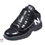New Balance V3 MLB Black & White Mid-Cut Umpire Plate Shoes