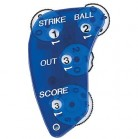 Markwort 4-Dial Blue Umpire Indicator with Score Feature - 4/3/3 Count