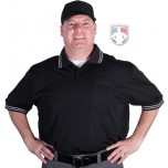 Smitty Pro Knit Umpire Shirt - Black
