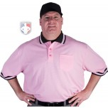 Smitty Pro Knit Mesh Umpire Shirt - Pink