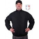 Majestic Double Climate Umpire / Referee Jacket - Black