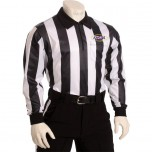 "Kentucky (KHSAA) 2"" Stripe Dye Sublimated Long Sleeve Football Referee Shirt"