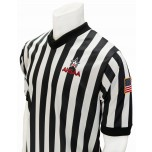 "Alabama (AHSAA) 1"" Stripe V-Neck Men's Referee Shirt"