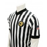 "California (CIF) 1"" Stripe V-Neck Referee Shirt"