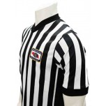 "Nebraska (NSAA) Men's 1"" Side Panel V-Neck Referee Shirt"