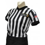 "Louisiana (LHSOA) 1"" Stripe Women's V-Neck Referee Shirt"