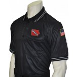 Iowa (IHSAA) Umpire Shirt - Black