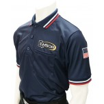 Louisiana (LHSOA) Short Sleeve Umpire Shirt - Navy