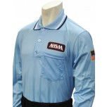 Alabama (AHSAA) Long Sleeve Umpire Shirt - Powder Blue