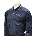 Kentucky (KHSAA) Long Sleeve Umpire Shirt - Navy