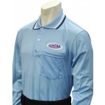 Kentucky (KHSAA) Long Sleeve Umpire Shirt - Powder Blue