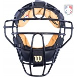 Wilson MLB Low Profile Chrome Moliben Umpire Mask with Two-Tone