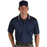 Dalco Mesh Umpire Shirt - Navy