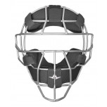 All-Star Silver System Seven Steel Umpire Mask with UltraCool