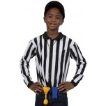 Children's Long Sleeve Referee Shirt with Byron Collar
