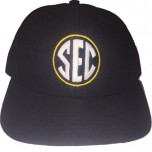 SEC Wool Blend Fitted Base Umpire Cap