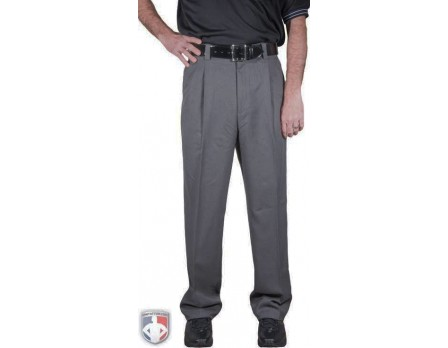 Smitty Charcoal Grey Base Umpire Pants with Expander Waistband