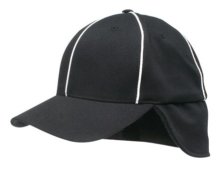 Richardson FlexFit Fleece Ear Flap Referee Cap