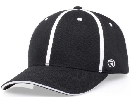 489-Richardson Alternative Style Black Officials Cap