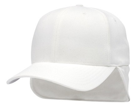 Richardson FlexFit Fleece Ear Flap Referee Cap - White