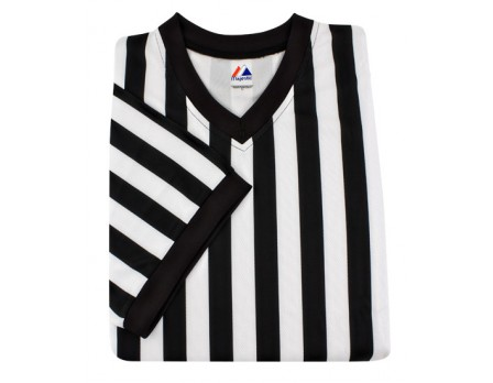 Majestic Cool Base V-Neck Referee Shirt