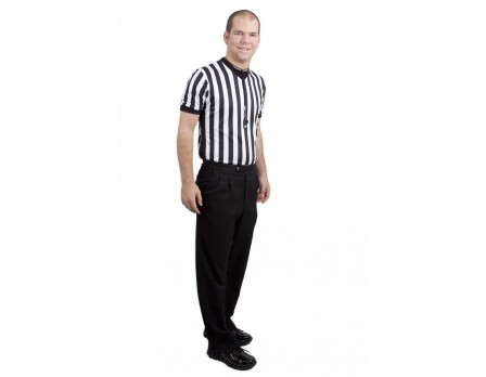 Smitty NBA Style 4-Way-Stretch Premium Referee Pants - Pleated