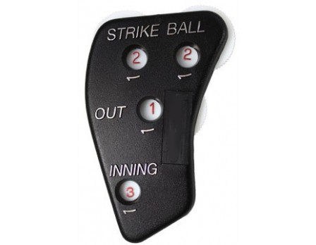 Markwort 4-Dial Platic Umpire Indicator with Innings - 4/3/3 Count