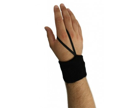 "Smitty 3"" Black Sweatband Referee Down Indicator"