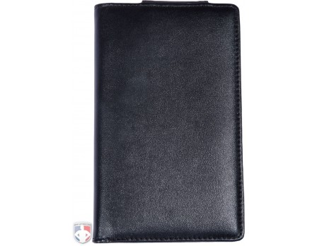 "Pro Grade Magnetic ""Book"" Style Umpire Lineup Card Holder / Game Card Referee Wallet"
