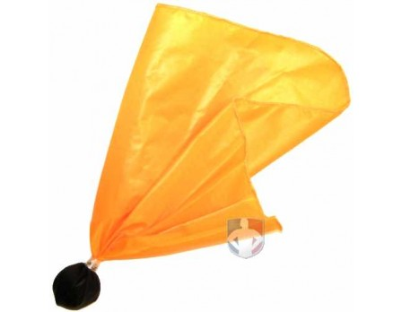 Ball Center Referee Penalty Flag - Black Ball