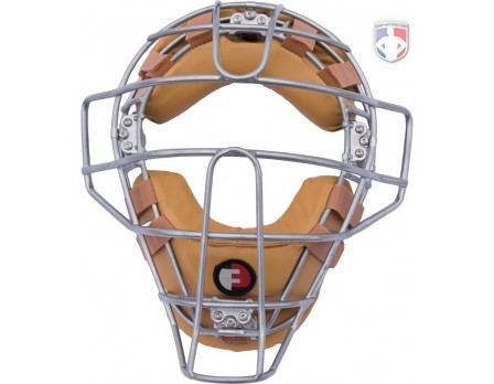 Force3 Defender Umpire Face Mask - Tan