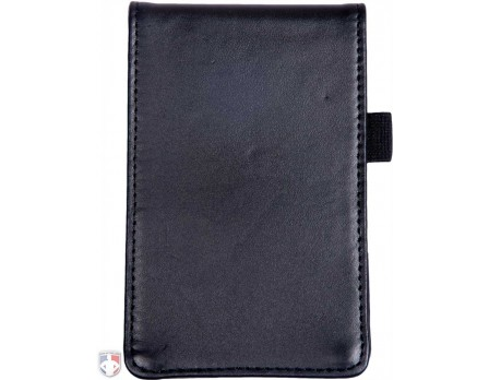 "Leather ""Flip"" Style Umpire Lineup Card Holder / Game Card Referee Wallet"