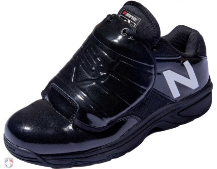 New Balance V3 MLB Black & White Low-Cut Umpire Plate Shoes